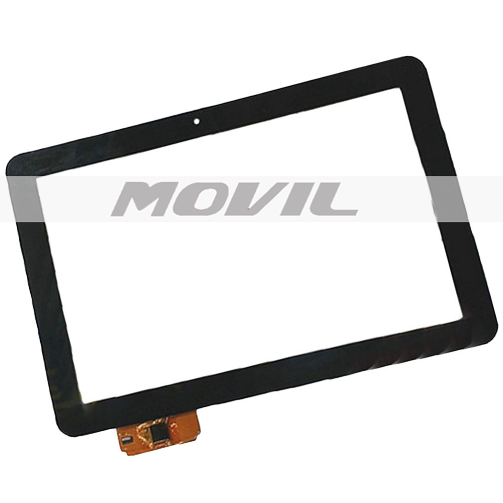 10.1 inch Black tactil Screen A11020A10089_V02 A1WAN06 para PRESTIGIO MultiPad PMP7100D3G DUO