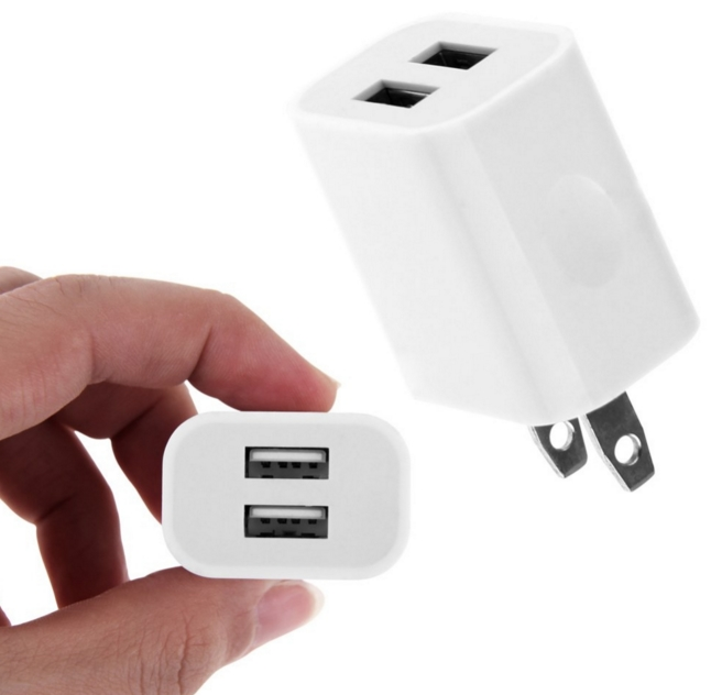 2 Ports Dual USB Wall Charger Adapter AU US UK EU Plug For Samsung For iPhone