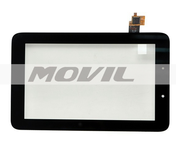 5PCs lot Original 7 Lenovo IdeaTab A2107 A2207 Tablet Tacil touchLCD  panel Sensor Glass