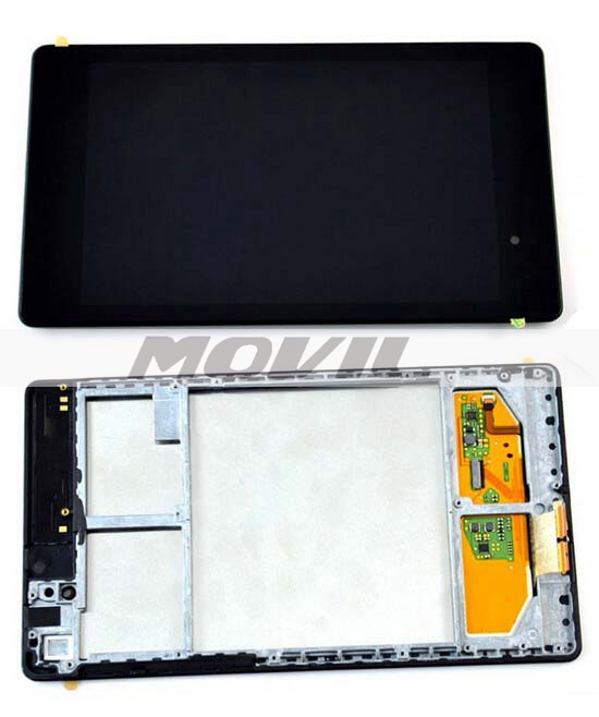 ASUS Google Nexus 7 2nd Gen 2013 WIFI Version tacil Screen Panel Digitizer Glass Sensor + LCD Display Panel Assembly
