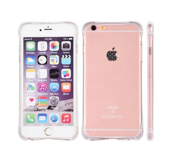 Apple iPhone 6  6s Crystal Atom Lite Anti-Shock TPU Case Clear