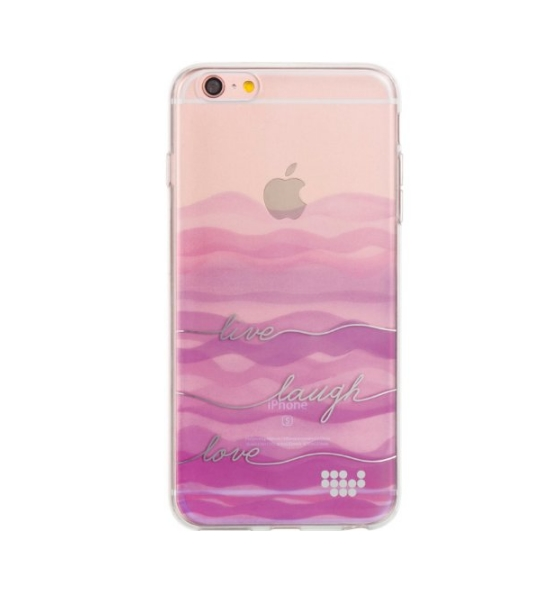 Apple iPhone 6  6s TPU Watercolor IMD Case live laugh love