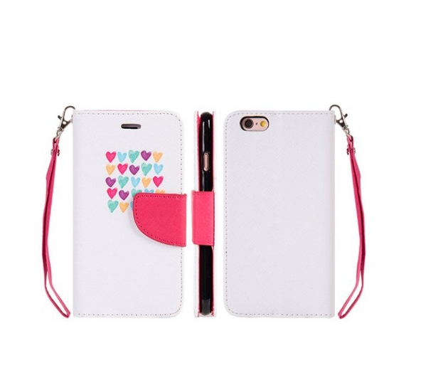 Apple iPhone 6  6s Trndy Leather Flip Wallet Case Love Me Always