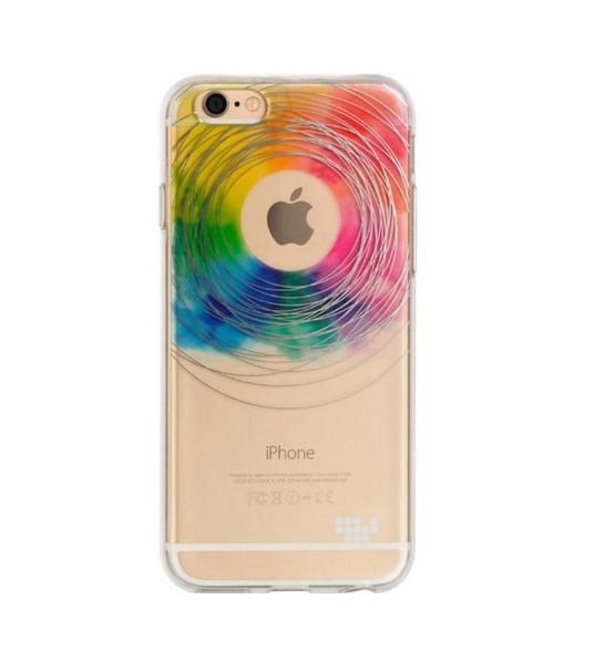 Apple iPhone 6 6s TPU Watercolor IMD Case love wins