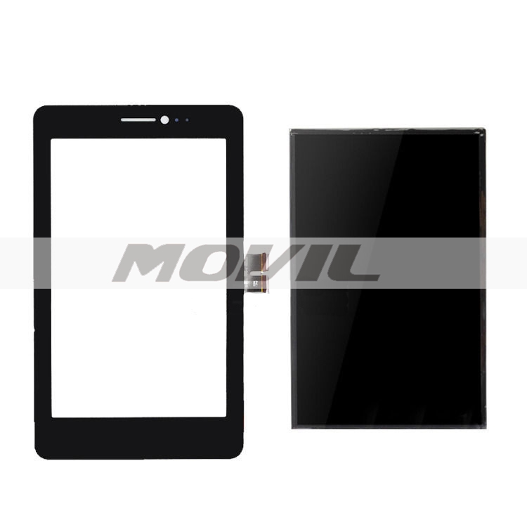 Asus Fonepad 7 ME175 ME175CG negro Digitizer tacil Screen Glass Sensor + LCD Display Panel Screen