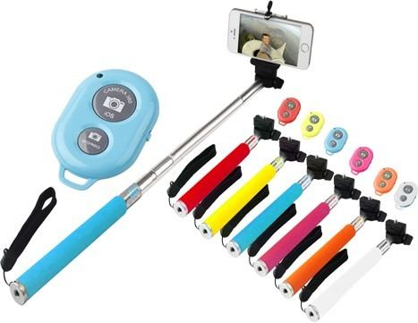 Brazo Monopod Bluetooth Selfie Iphone Galaxy Lg Camara Foto