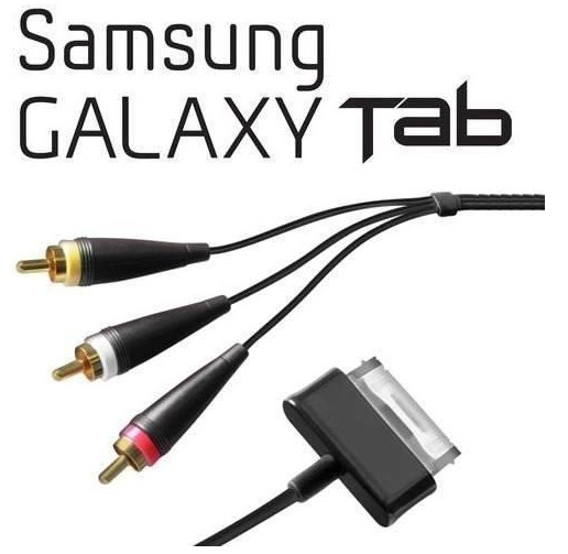 Cable Av Audio Y Video Para Samsung Galaxy Tab P1000 p1010