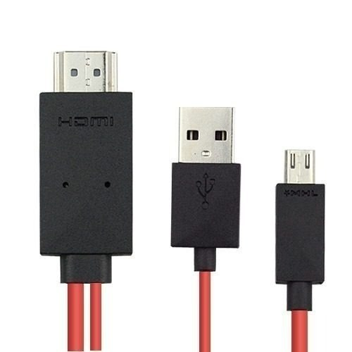 Cable Hdmi Mhl Galaxy S3 S4 Note 2 Note 8 0 Tv Hd + Regalo