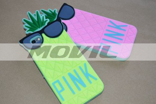 Case Funda Pink Forma De Pina Original Iphone 6