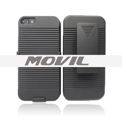 Combo estuches para Iphone 5  Dual holster combo estuches para Iphone 5-0