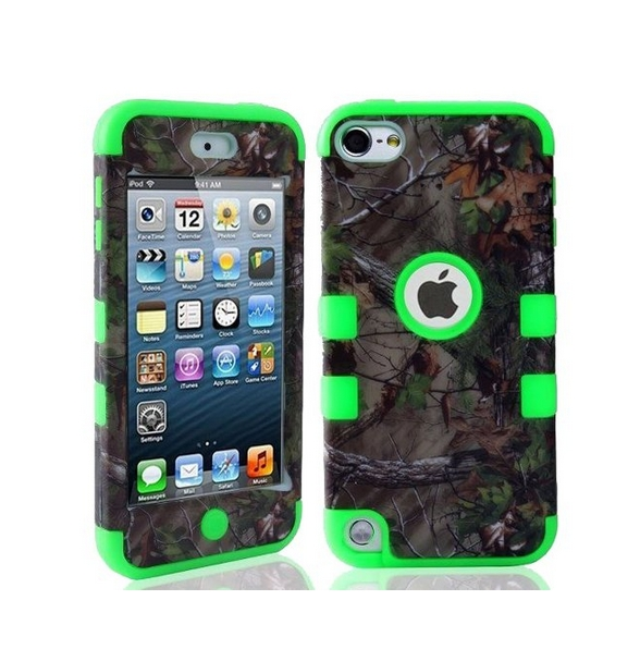 Defender Tough Armor Tree Camo Shockproof Dual Layer High Impact Camouflage Hunting  green