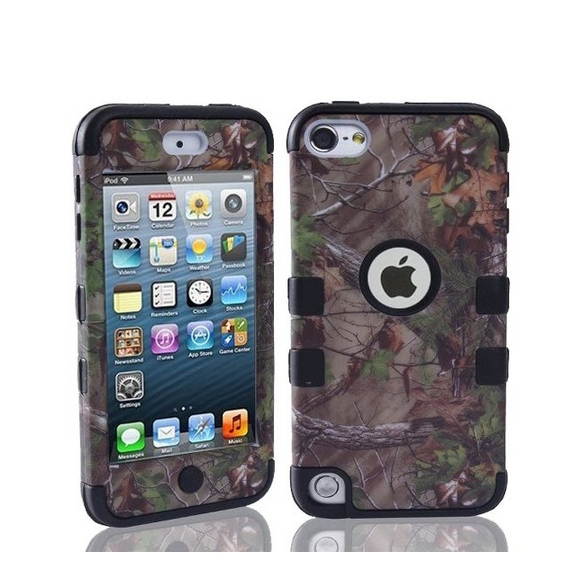 Defender Tough Armor Tree Camo Shockproof Dual Layer High Impact Camouflage Hunting black