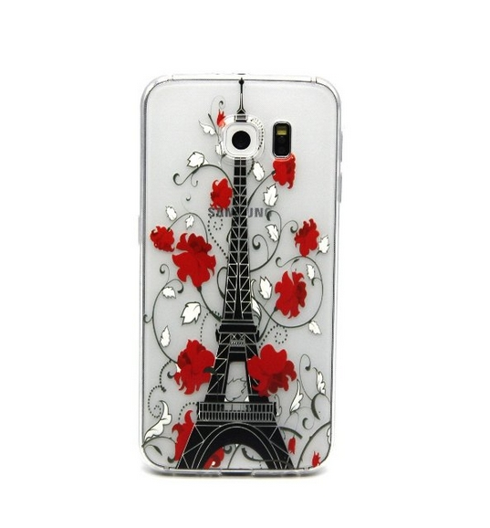 Fashion Design TPU Rubber Gel Ultra Thin Skin Case Cover For Samsung Galaxy S6