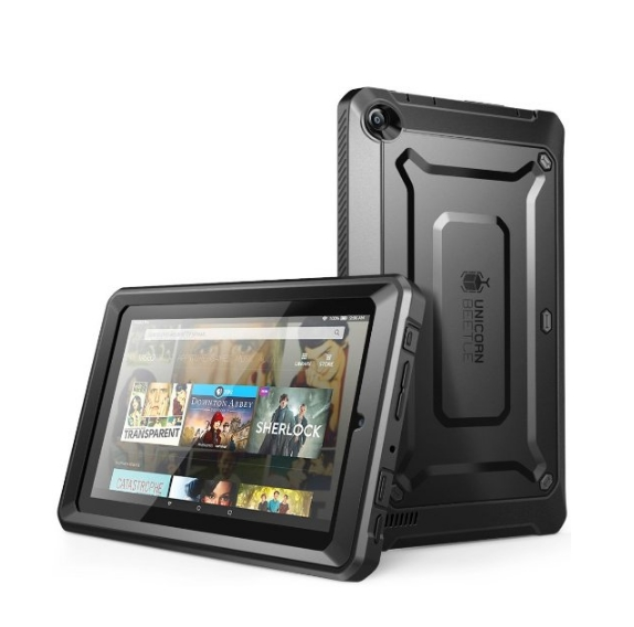 Fire 7 Case SUPCASE Heavy Duty Case for 2015 Release Amazon Fire 7 Tablet black