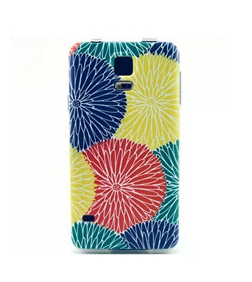 Flipcase Soft Silicone IMD TPU Scratch-Proof Protector Skin Cover Case For Samsung Galaxy S5