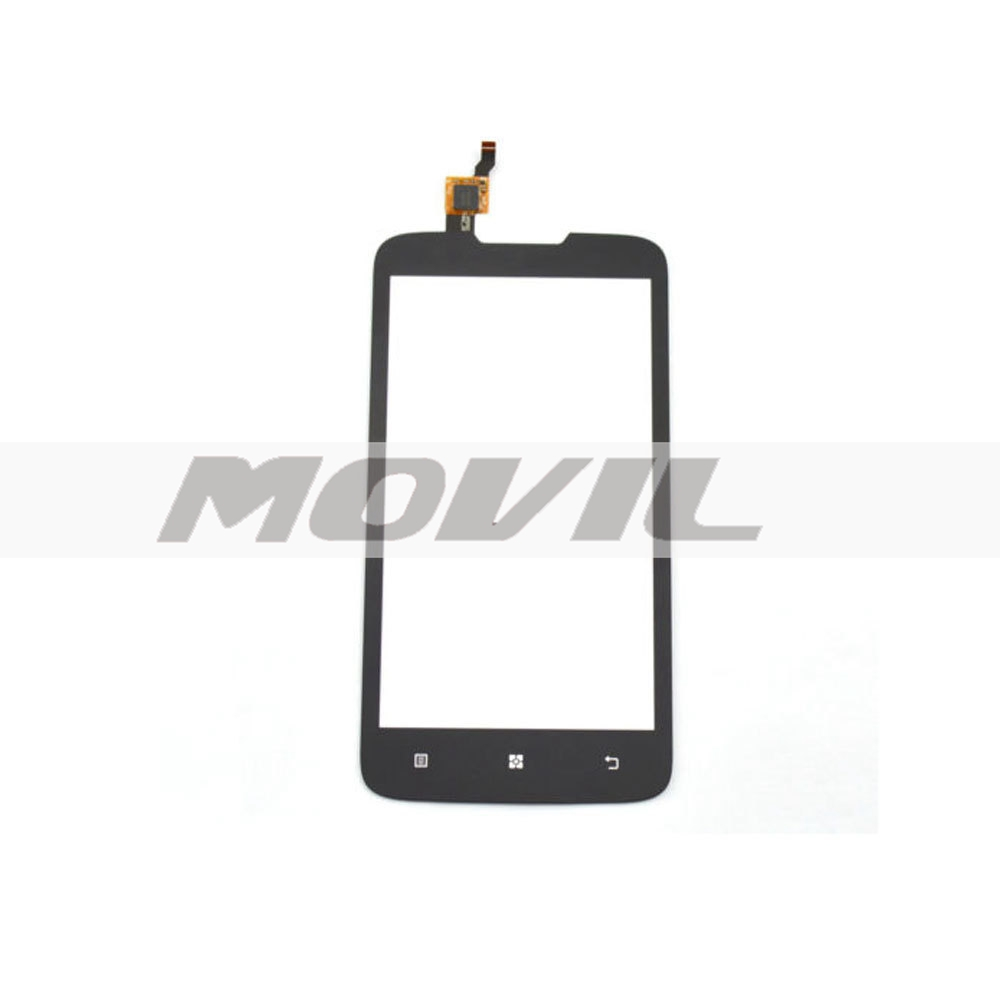 Front LCD Display With Frame Tacil touch Glass Lens  Part Para Lenovo A680
