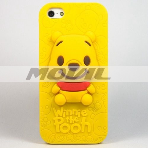 Funda 3d Pooh Case Winnie Cuties Para Iphone 5 5s 5c