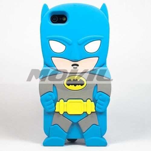 Funda Batman 3d Silicon Case Protector Iphone 5 5s 5c