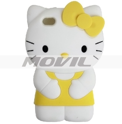 Funda Case  Protector Iphone 5 Hello Kitty Carcasa Amarillo