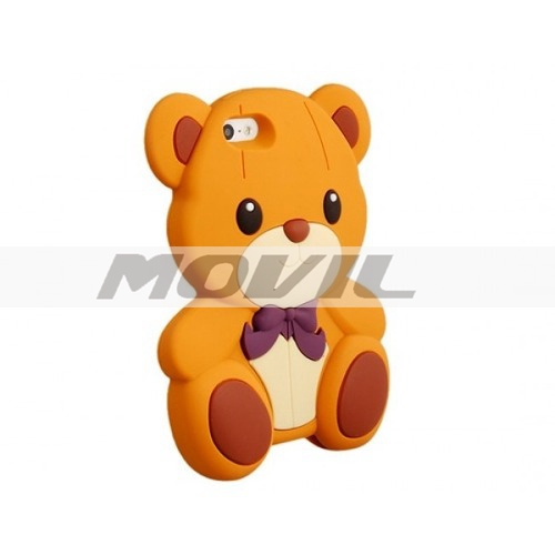Funda Case De Silicon Oso Teddy Bear Iphone 5 5s Apple
