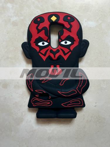 Funda Case Goma Silicon 3d Star Wars Darth Maul Lg G3