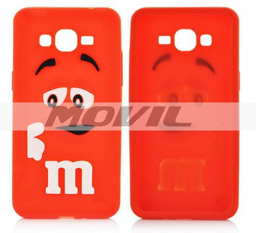 Funda Case M&m De Goma Pra Samsung Galaxy   J5 A5 E5