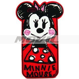 Funda Case Silicón Minnie Mouse Disney Iphone 6 Plus Apple