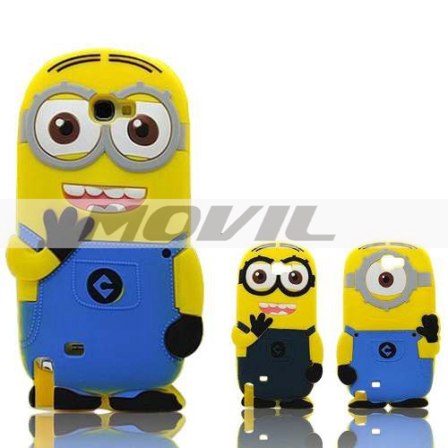 Funda Minion Galaxy Grand Prime G530 Silicon Samsung Case