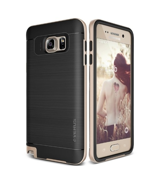 Galaxy Note 5 Case  Verus  High Pro Shield shine gold