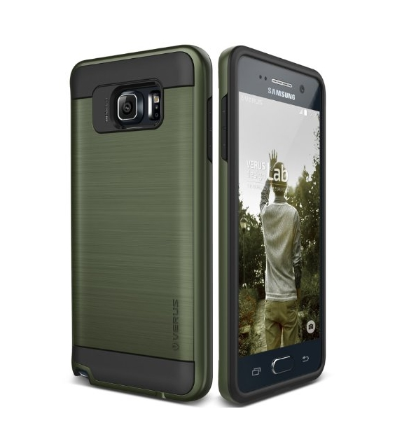 Galaxy Note 5 Case  Verus  heavy duty military green