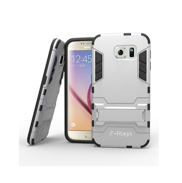 Galaxy S6 Case    Robot-Bear Dual Layer Protective Hybird Armor Case Slim Fit