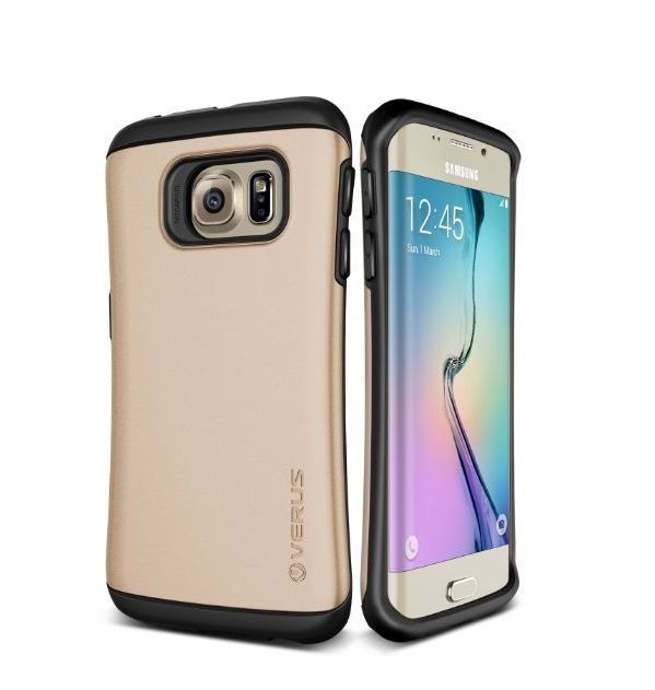 Galaxy S6 Edge Case Verus Thor Active    shine gold
