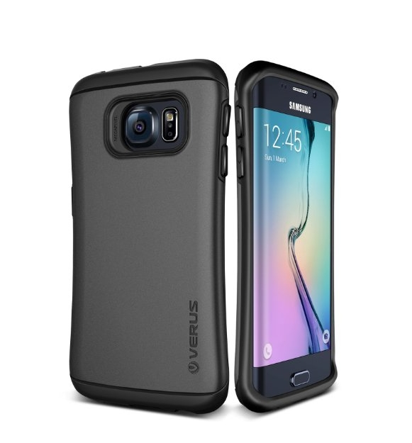 Galaxy S6 Edge Case Verus Thor Active dark silver