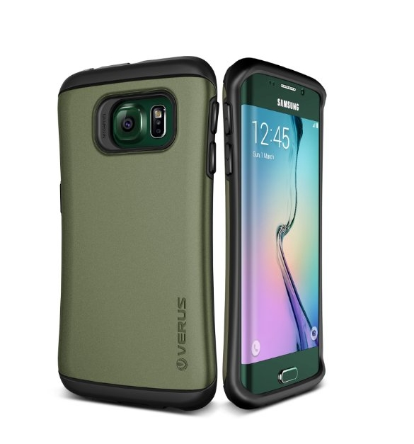 Galaxy S6 Edge Case Verus Thor Active military  green