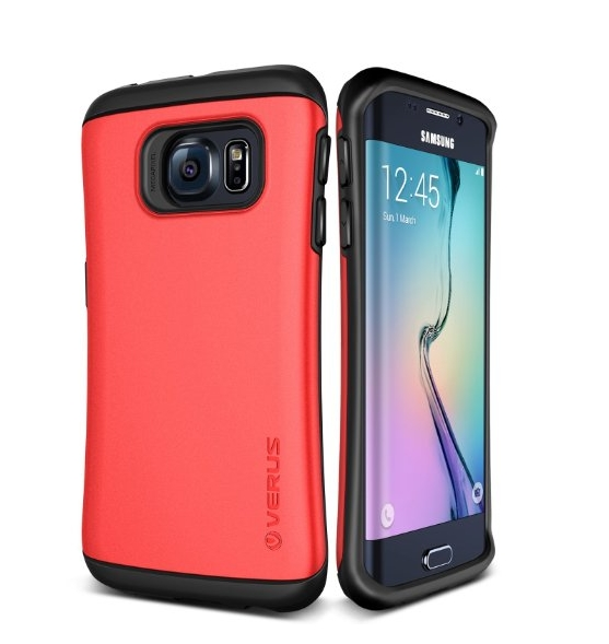 Galaxy S6 Edge Case Verus Thor red