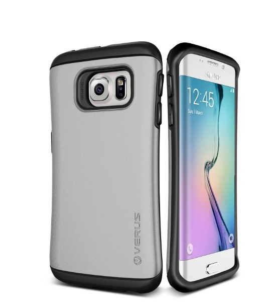 Galaxy S6 Edge Case Verus Thor satin silver