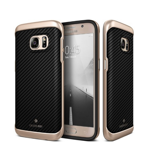 Galaxy S7 Case Caseology Envoy Series Premium Leather Bumper Cover