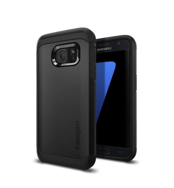 Galaxy S7 Case Spigen Tough Armor HEAVY DUTY   EXTREME Protection  Case for Samsung Galaxy S7 black