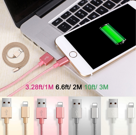 Genuino Fast Charge USB Cable Lightening For iPhone se 5 5S 6 Plus 6S Andriod