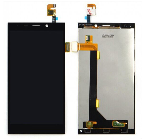 Gionee Elife E7 New Black Full  pantalla Display Screen Panel Monitor Touch Screen Digitizer Glass