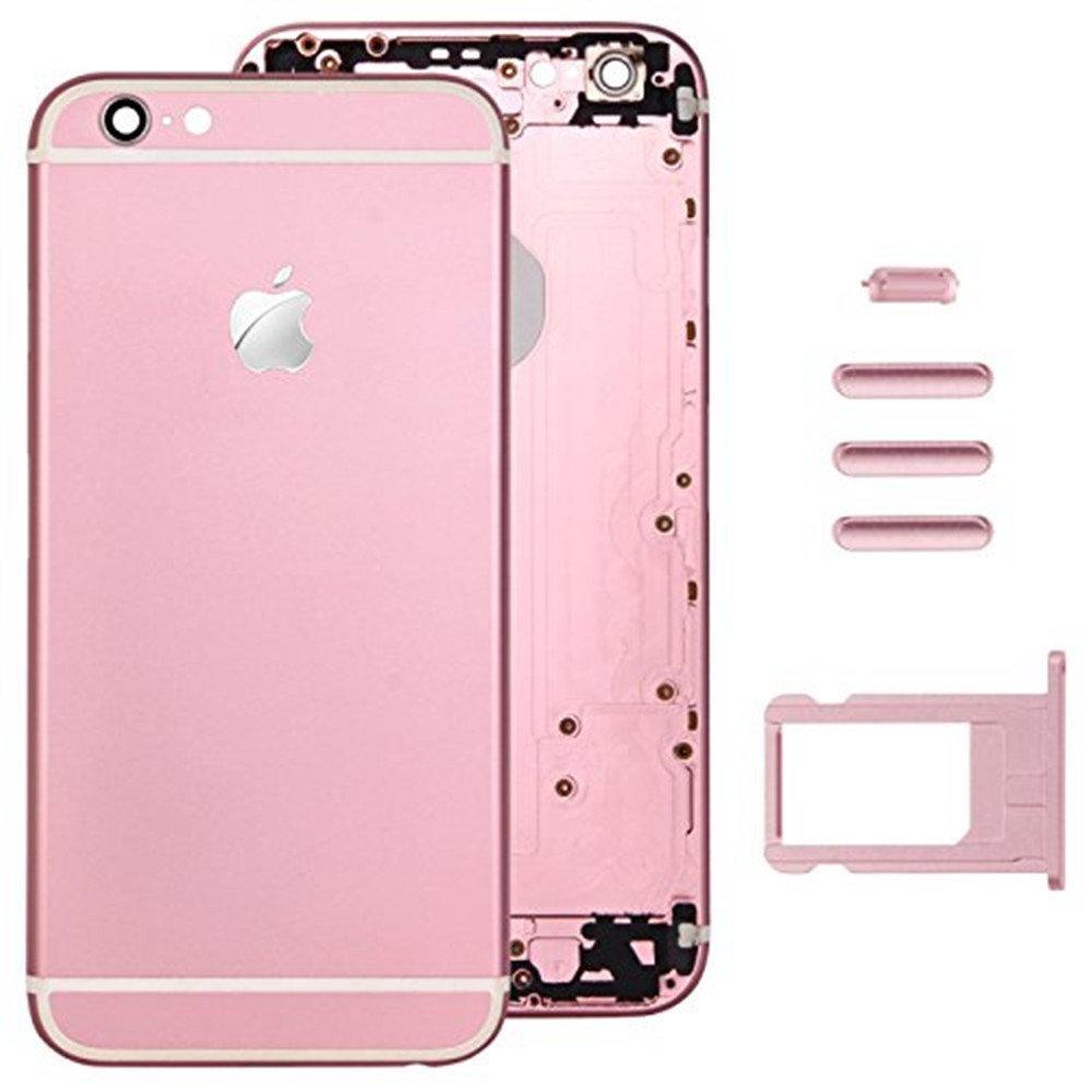 Tapa Trasera Bateria carcasa Puerta carcasa repuestos para iPhone 6 4.7 plus pink