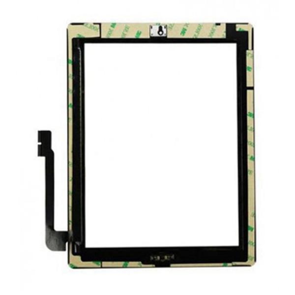 Tactil&Home Boton para iPad 3 iPad 4 negro