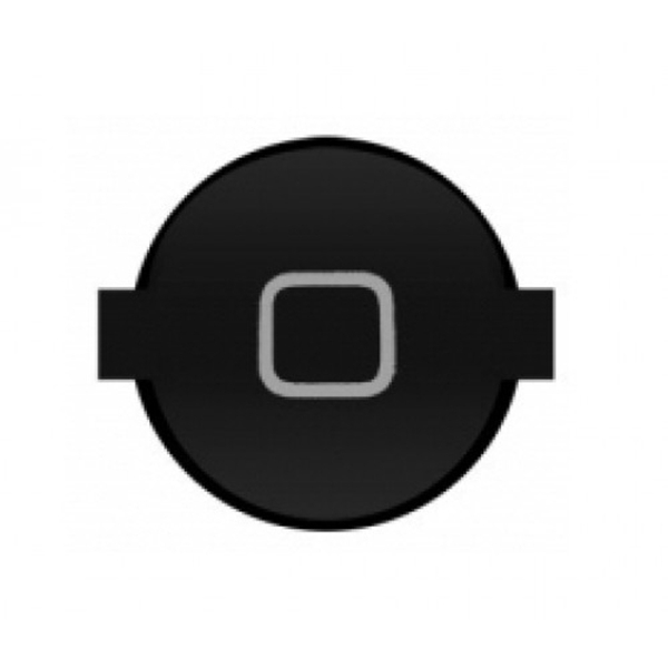 Home Boton para iPad 2 negro