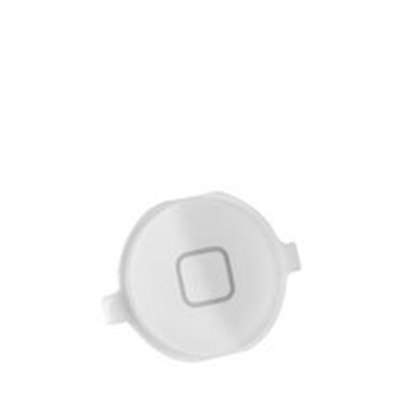 Home Boton exterior para iPhone 4 blanco