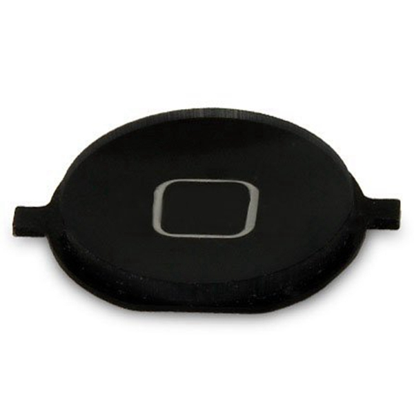 Home Boton exterior para iPhone 4 negro