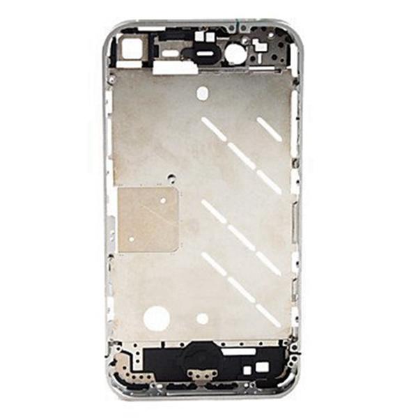 Metalico Bisel para iPhone 4
