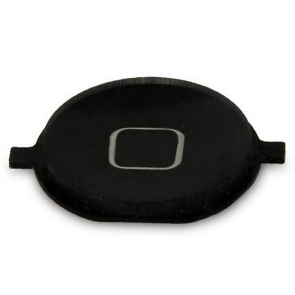 Home Boton exterior para iPhone 4S negro