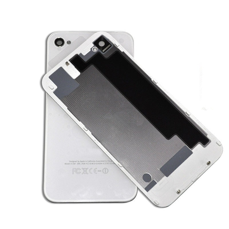 tapa de bateria Iphone 4s  blanca original