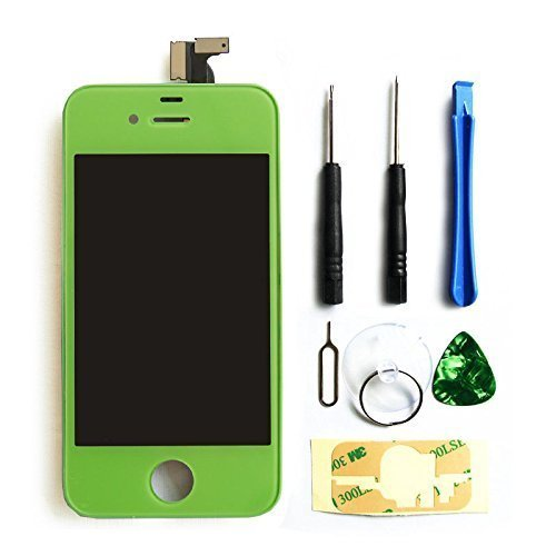 lcd pantalla Iphone 4s original lcd verde