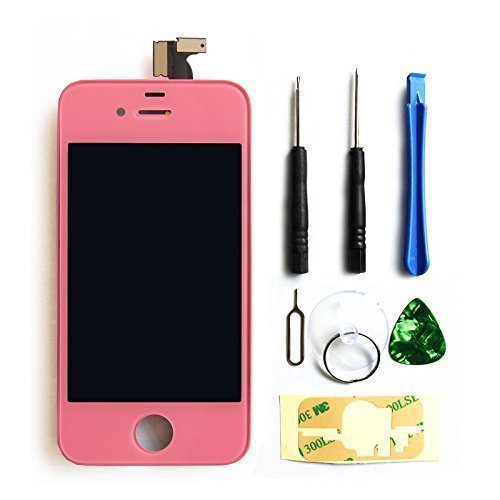 lcd pantalla Iphone 4s original lcd pink